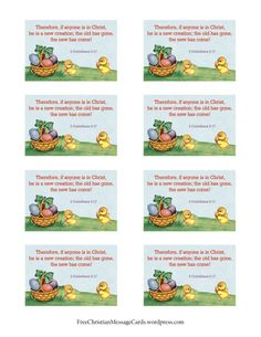 free printables | Free Easter card | Free Christian Message Cards