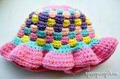Crochet Sun Hat – Brim Pattern via My Merry Messy Life