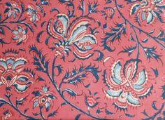 Dutch Heritage Gugarat Large - Pink - 1/2yd by Motifsbyhand on Etsy https://www.etsy.com/listing/185388113/dutch-heritage-gugarat-large-pink-12yd
