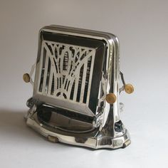 Art Deco Royal Rochester Luxury Toaster, manufactured March 1928, Rochester, NY,