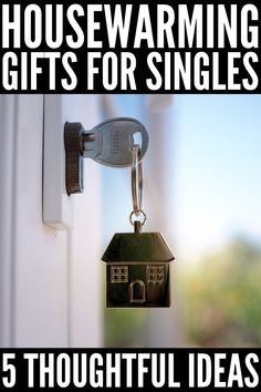 15 Housewarming Gift Ideas | Whether a close friend just rented her first apartment, a relative just bought their first home, or you've been invited to a housewarming party for a couple who just moved in together, this post has the best housewarming gift ideas for singles, couples, and families. These gifts go above and beyond traditional baskets and while some are practical, others make for unique, thoughtful, and meaningful keepsakes. Traditional Baskets, Best Housewarming Gifts, Moving In Together, Restaurant Guide, Home Scents, New Homeowner, First Home, Household Tips, Keepsakes