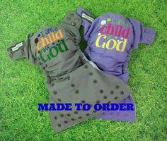 One size pocket / Christian Scripture I Am by LittleBeastiesDiaper
