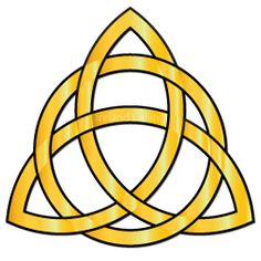 Triquetra – the Trinity Knot. Visit Ireland Calling for more information about the Irish Celtic symbols. Trinity Symbol, Celtic Trinity Knot, Celtic Knots, Triquetra, Trinidad, Irish Prayer, Line Geometry, 4 Elements, Celtic Culture