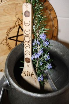Kitchen witch spoon - Blessed Branches Magical Tools by Natasha Heard.