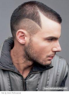 Cool Design Haircuts Art Work And Men Hair On Pinterest Short Hairstyles Gunalazisus