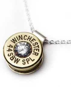 Winchester Bullet Necklace <3