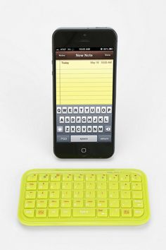 Mini Bluetooth Keyboard #urbanoutfitters