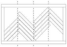 Trendy ideas for wood tile bedroom floor herringbone pattern Wood Wall Design, Diy Wood Wall, Wood Wood, Wood Art, Do It Yourself Furniture, Diy Furniture, Chevrons, Wood Patterns, Pattern Ideas