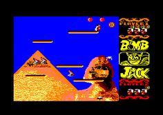 Bomb Jack (Elite, 1986) Amstrad