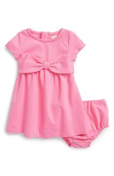 kate spade new york kids 'kammy' bow dress & bloomers (Baby Girls) available at #Nordstrom