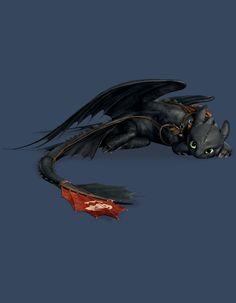 Toothless I Night Fury