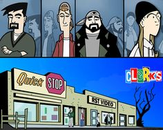 such a shame the cartoon only got 6 episodes   Clerks: The Animated Series