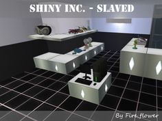 Shiny Things Inc. Shelving - SLAVED Ever since the GUID database went down I felt like it was time to look at old CC and see if it can be improved in any way. This is the seventh part of a. Sims 2 Games, Robot Factory, Sims 2 Hair, Fire Flower, Shelving, Alien Planet, Space, Sims 4, Shelves