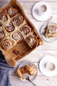 These cinnamon rolls are free of dairy and refined sugar and made in under an hour using instant yeast. Overnight instructions also included! Cinnamon Bun Recipe, Vegan Cinnamon Rolls, Orange Sweet Rolls, Sweet Roll Recipe, Bread Baking, Sweet Tooth, Sweet Treats, Dessert Recipes, Yummy Food