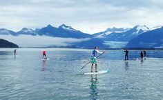 STAND UP PADDLEBOARD ALASKA THIS SUMMER - #paddleboarding #standuppaddle #supconnect