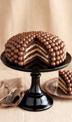 You'll love this Malteser Cake Recipe Easy Video Tutorial that shows you how to make this very popular and incredibly delicious dessert. Just Desserts, Delicious Desserts, Yummy Food, Healthy Food, Sweet Recipes, Cake Recipes, Dessert Recipes, Torta Candy, Malteser Cake