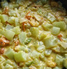 Konkon Dudi Bafad is made with coconut juice like many other Bafad Recipes like Cauliflower Bafad and Long Green Beans or Vaal Bafad . ...
