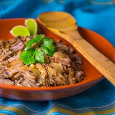 Slow Cooker Carnitas | Southern Boy Dishes
