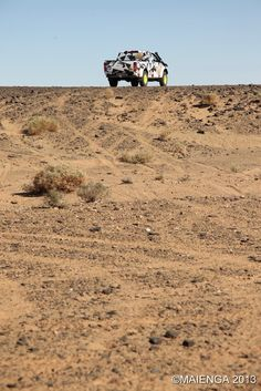 Isuzu D-Max at the Rally Aïcha des Gazelles Maroc 2013