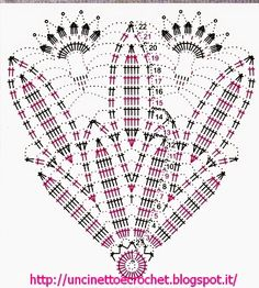 Uncinetto e crochet: Centrino all'uncinetto coi petali di cotone bianco