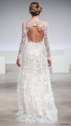 anne barge fall 2017 bridal long sleeves illusion lace boat neck sweetheart neckline full embellishment modified a  line wedding dress keyhole back sweep train (eaton) bv
