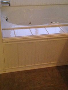 Tub surrounds give custom feel to builder grade tubs