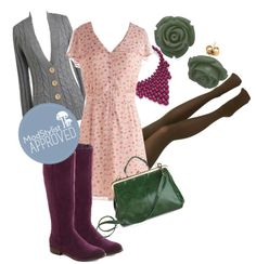 """""""Genevieve's What Do You Pink? Dress"""" by modcloth ❤ liked on Polyvore"""