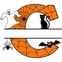 Free Halloween Monogram Clip art Alphabet letters that you can personalize with your name. Create customized designs, templates and . Monogram Stencil, Monogram Maker, Monogram Letters, Alphabet Letters, Halloween Templates, Halloween Stencils, Halloween Clipart, Printable Pumpkin Carving Patterns, Pumpkin Carving Stencils Free