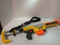 NERF N-STRIKE RECON CS-6 WITH SHOULDER STOCK AND BARREL EXTENSION
