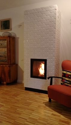 Pellet Stove, Fours, Stoves, Fireplaces, Wood, Interior, Home Decor, Wood Burning Fireplaces, Fireplace Heater