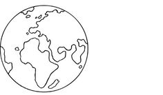 kleurplaat planeet aarde - Google zoeken