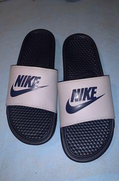 nike slides mens on Mercari Nike Slides Mens, Nike Sandals, Nike Benassi, Messi, Leo, Size 10, Shoes, Bedroom, Interior