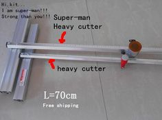 78.99$  Buy here - http://alilxx.worldwells.pw/go.php?t=32359665699 - 70cm Length super-man 70cm Length heavy T- Type Aluminum Alloy Glass Cutter Tool FR