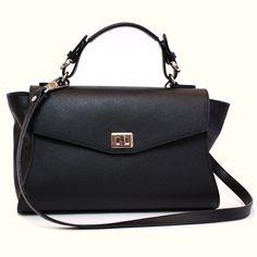 30addef241 Kenneth Cole Reaction · Leather handbag shoulder bag bags women s black by  GanzaDesign Backpack Purse