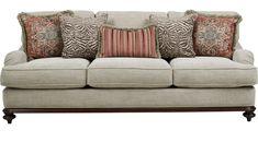 $899.99 - Bali Breeze Taupe Sofa - Classic - Transitional, Textured