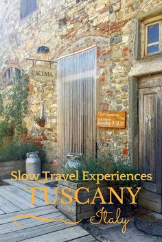 Slow Travel Experiences in Chianti, Tuscany with @kmzerotours