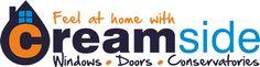 Creamside logo, Pembrokeshire based windows, doors and conservatories installer