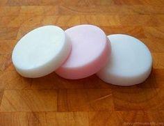 Finished moisturizing lotion bars