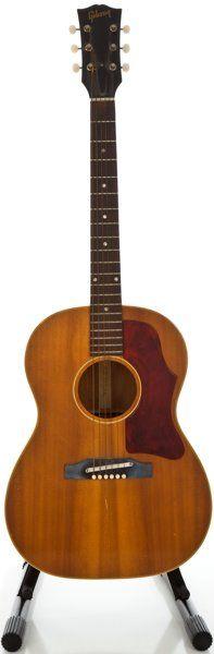 1964 Gibson B-25 Natural Acoustic Guitar, Serial #210306.