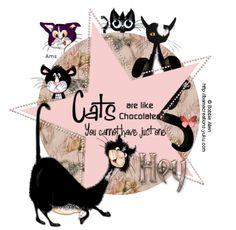 BA Cats are like Chocolate ani