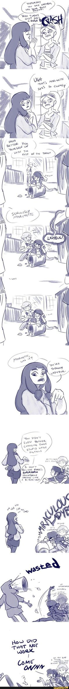 Or if Lyla was as clueless as everyone else I think it would be cool to see her absolutely love Marinette.