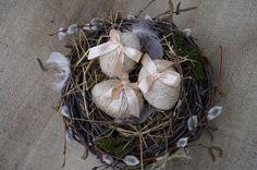Пасхальное гнездо. Easter nest. Eco-Style. Osternest. Eco-Style