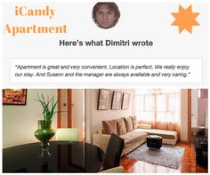 As you can read one of the reviews of our guest in my iCandy apartment. I can assure you that you'll be 100% accommodated comfortably and conveniently.  Grab our special offer now and you could experience the best  accommodation you could ever imagined.  Drop a message to booking.iCandy apartment for more infos :)