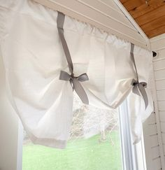 - Home Fashion Trend Custom Curtains, Valance Curtains, Burlap Curtains, Buffalo Plaid, Tie Up Shades, Swatch, R Colors, Tied Up, Kitchen Curtains