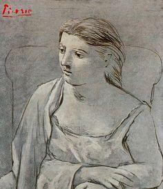 Picasso, Mujer de Blanco, 1923