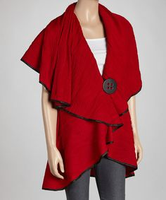 Look what I found on #zulily! Red Cape - Women & Plus by Come N See #zulilyfinds