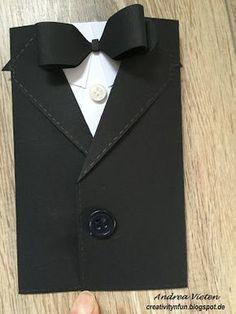 Creativity 'n' Fun: Karte im Anzug für Männer