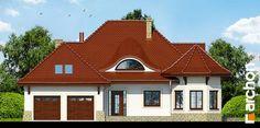 Projekt domu Dom pod juką 2 - ARCHON+ Modern House Design, Home Fashion, Mansions, House Styles, Home Decor, Modern, Decoration Home, Manor Houses, Room Decor