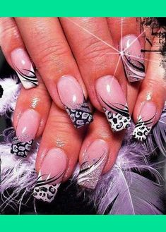gray and black nails! | Alectia S.'s Photo | Beautylish