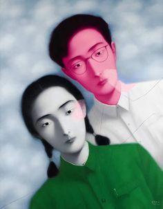 Zhang Xiaogang Lot36XiaogangLesCamarades